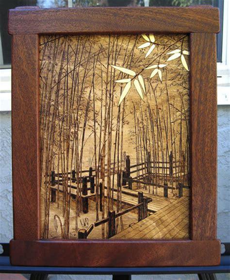 wood burning  bamboo forest  jtpark  lumberjockscom woodworking community