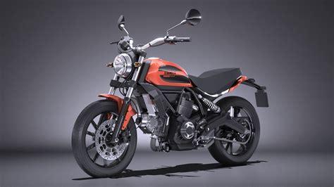 Ducati Scrambler Sixty2 2019 by Ducati Scrambler Sixty2 3d C4d