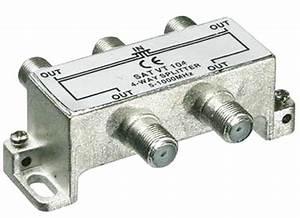 Kabel Tv Verteiler : 4 fach verteiler f r kabel tv dvb t und ukw inkl 5 f stecker profi qualit t von satelliten ~ Orissabook.com Haus und Dekorationen
