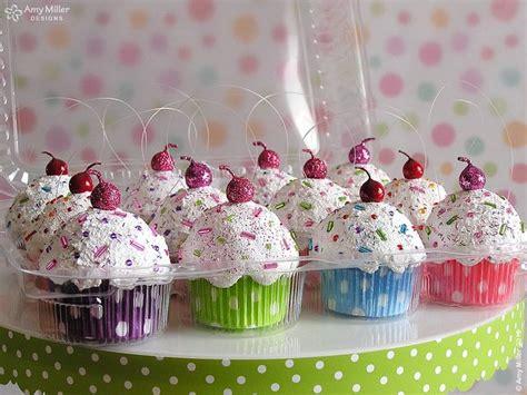 diy christmas cupcake ornament handspire