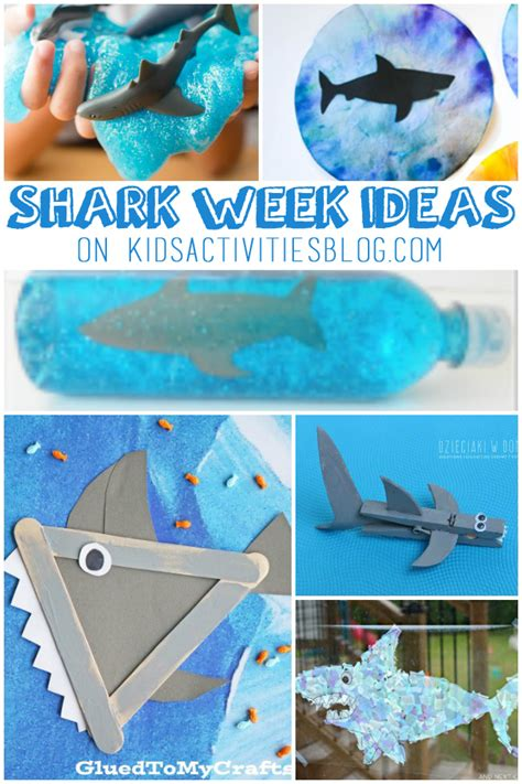 shark activities  crafts