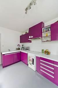 Peindre Meuble Cuisine : peindre meubles cuisine avec peinture pour bois sans poncer ~ Melissatoandfro.com Idées de Décoration