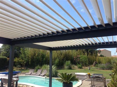 pergola a lames orientables pergola bioclimatique pergola aluminium pergola lames orientables jardin