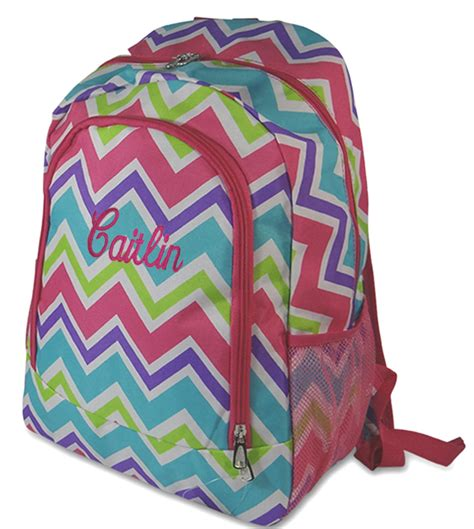 teen backpack monogrammed personalized