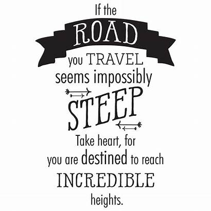 Travel Wall Quotes Road Decal Wallquotes Take