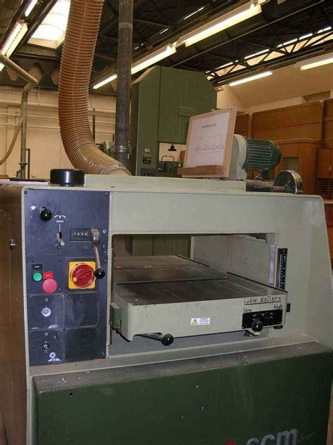 introduction  woodcutting machinery thicknesser