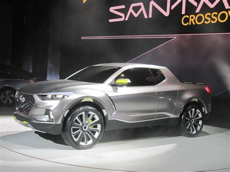 hyundai crossover truck hyundai santa cruz crossover pickup truck concept 2015