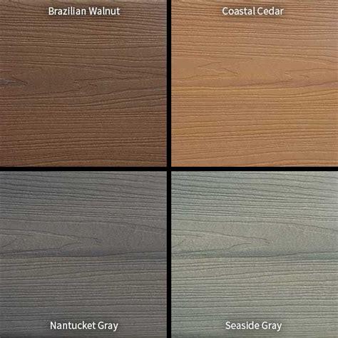 Home Depot Trex Decking Colors by Veranda Armorguard Composite Decking