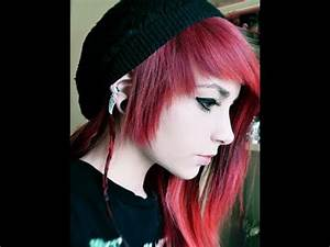 Curly Emo Hairstyles