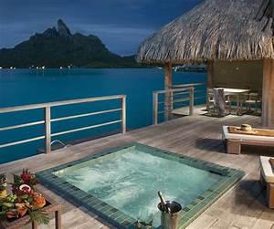 luxury collection overwater bungalow honeymoon in bora bora With tahiti honeymoon packages overwater bungalow