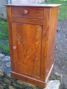 Meuble De Chevet : ancienne table de chevet transform e en petit meuble t l la chronique authentique le blog ~ Teatrodelosmanantiales.com Idées de Décoration