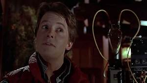 HD Photo- Michael J. Fox as Marty McFly in Back to the ...