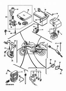 Electrical 2 For 2016 Yamaha Yzf  Yzf600 Yzf