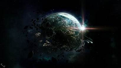 Planet Destroyed Destruction Wallpapers Ring Rings Planets