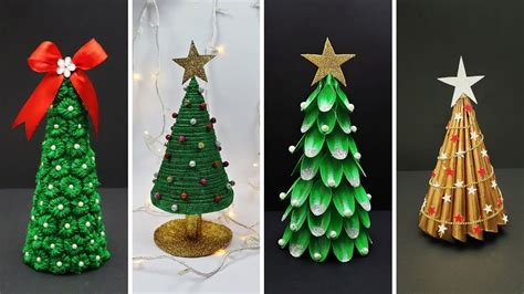 easy diy christmas tree ideas    waste diy