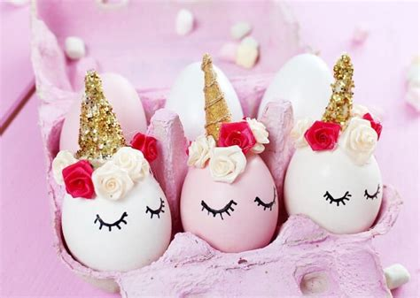 diy unicorn easter eggs home design garden