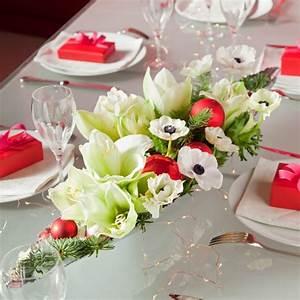 Art Floral Centre De Table Noel : un centre de table fleuri pour no l marie claire ~ Melissatoandfro.com Idées de Décoration