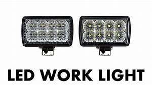 Led Work Light  6 Inch Rectangular