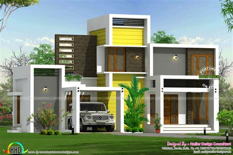 16 Lakhs House Plan Architecture  Kerala Home Design And