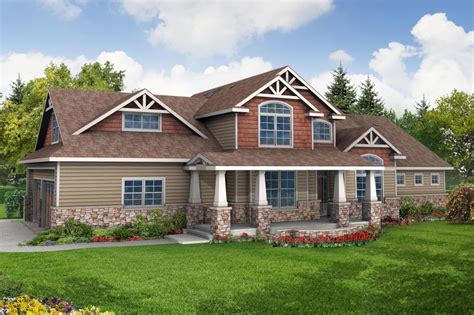 story craftsman house plans