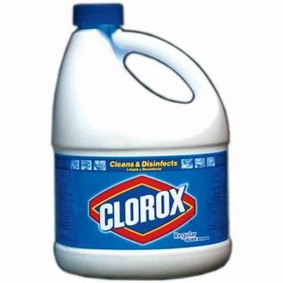 Bleach Clorox Clipart Bottle Cliparts Bleached Clip