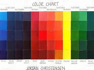 Jordan Christensen Design Portfolio  Mixing Gouache Paints