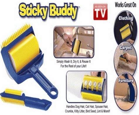 Pembersih Debu Bulu Pakaian jual sticky buddy pembersih debu kotoran bulu pada sofa