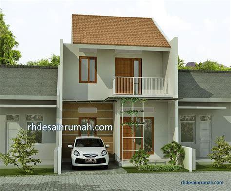 desain rumah sederhana  meter minimalis contoh gambar