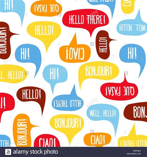 Speech bubbles with