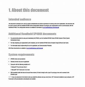 21  Free User Manual Template