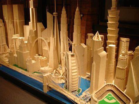 stan munro toothpick city art pick art craft stick crafts