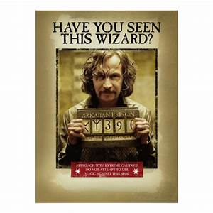 Sirius Black Wanted Poster | Zazzle