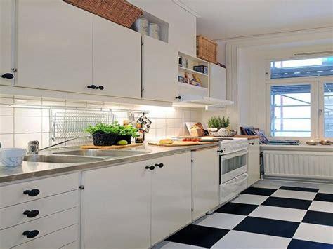 white kitchen floor tile ideas black and white kitchen floor tiles wood floors