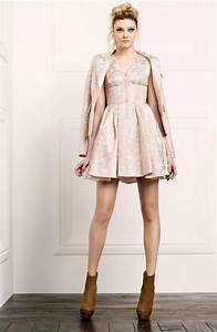 white aisle wedding inspiration from pre fall 2012 With rachel zoe wedding dress
