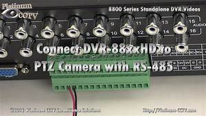 Connect Ptz Camera - Dvr-88xxrt