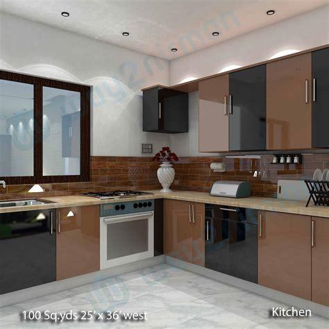 interior design kitchen images way2nirman 100 sq yds 25x36 sq ft house 2bhk