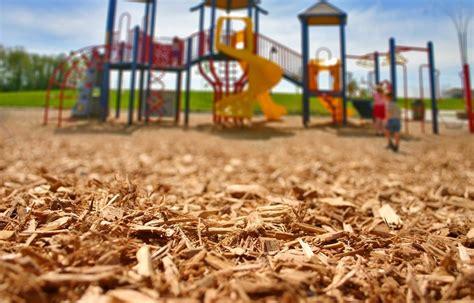 best mulch for playground rubber mulch playground safety surfacing the playground 4577