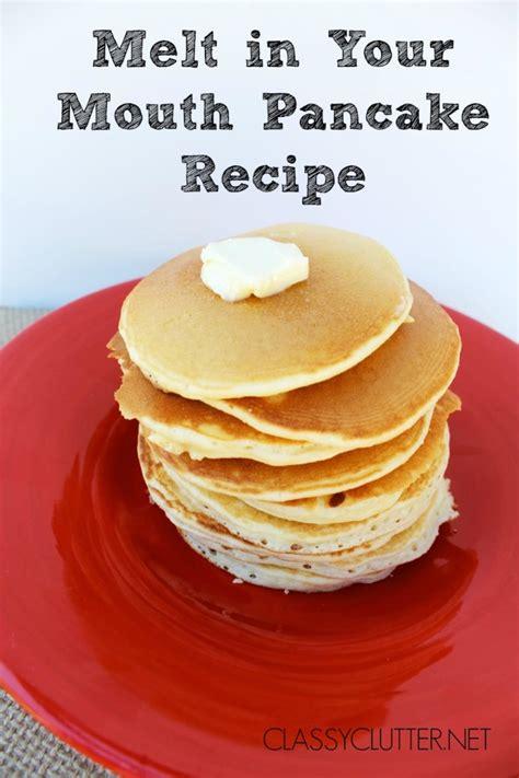 best pancake recipe easy pancake recipe