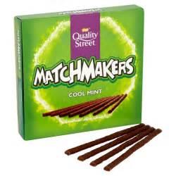 chocolate basket quality matchmakers mint chocolate box 130g
