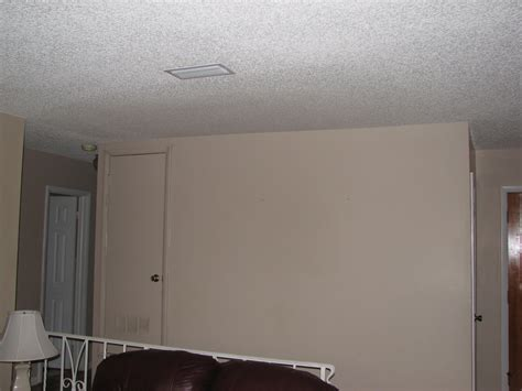 popcorn ceiling repair attic stepthru ceiling repair popcorn spray texture after
