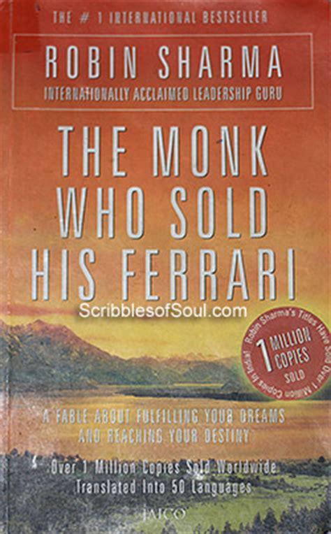 the monk who sold his the monk who sold his by robin sharma review