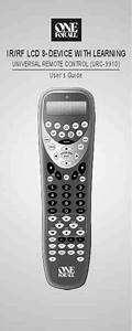 One For All Urc  Remote Control