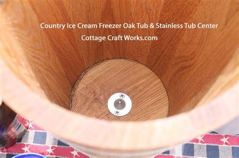country freezer usa ice cream makers hand crank electric