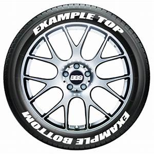top and bottom text on tires tire stickers com With japanese tire lettering
