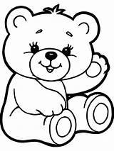 Coloring Bear Teddy Desenhos Colorir Ursos Printable Dibujos Gaddynippercrayons Sheets Pintar Bears Valentine Colorear Tiernos Animais Adult Bebes Herz Malvorlagen sketch template
