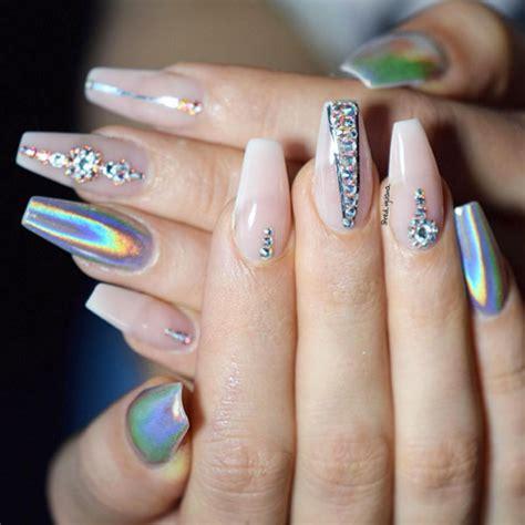 chrome nail designs unique and chrome nails nailpro