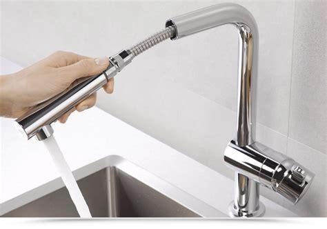 rubinetto cucina con doccetta grohe flair miscelatore da cucina con doccetta estraibile