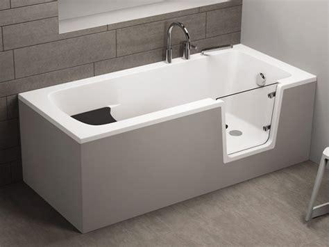 rechteckige badewanne mit tuer seniorenbadewanne