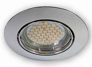 Led Deckenleuchte Einbau : led einbau strahler gu10 einbauleuchte 230 v deckenleuchte spot lampen licht ebay ~ Buech-reservation.com Haus und Dekorationen