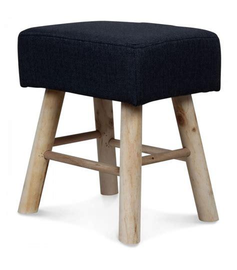 tabouret haut en bois best tabouret en bois et assise rembourrée en tissu gris haut